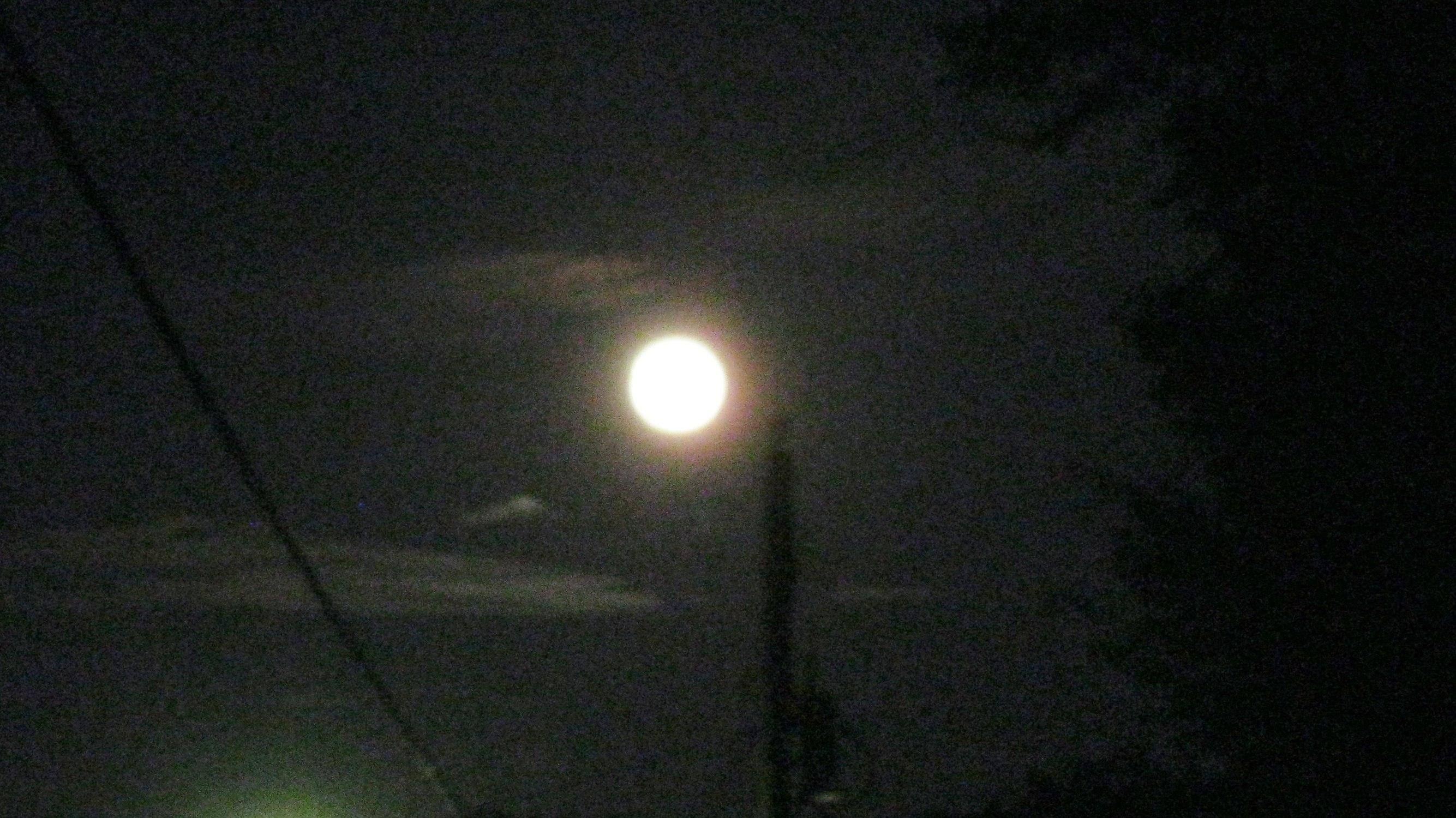 Full Moon Last Night